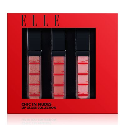 ELLE Cosmetics Lip Gloss Collection