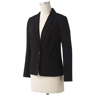 212 Collection Solid Blazer