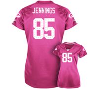 Green Bay Packers Draft Him II Greg Jennings Shimmer Top