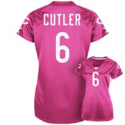 Chicago Bears Draft Him II Jay Cutler Shimmer Top