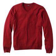 Apt. 9 Merino V-Neck Sweater - Big and Tall