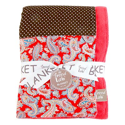 Trend Lab Chocolate Kiss Baby Receiving Blanket