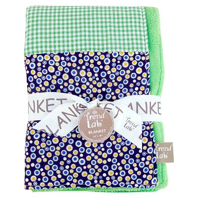 Trend Lab Apple Berry Baby Receiving Blanket