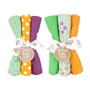 Trend Lab Jelly Bean 6-pk. Burp Cloth Set
