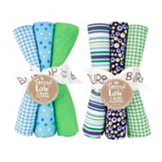 Trend Lab Apple Berry 6-pk. Burp Cloth Set