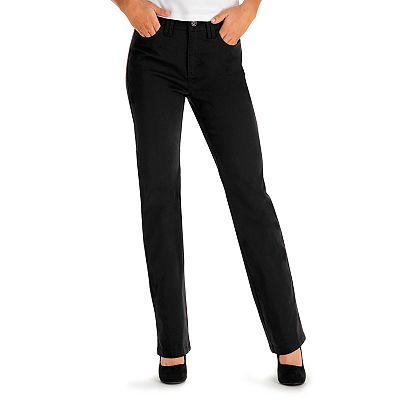 Lee Jackie Classic Fit Slimming Straight-Leg Pants