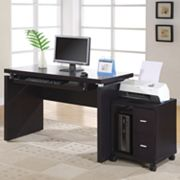 Monarch 2-Drawer Computer Stand