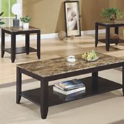 Monarch 3-pc. Coffee and End Table Set