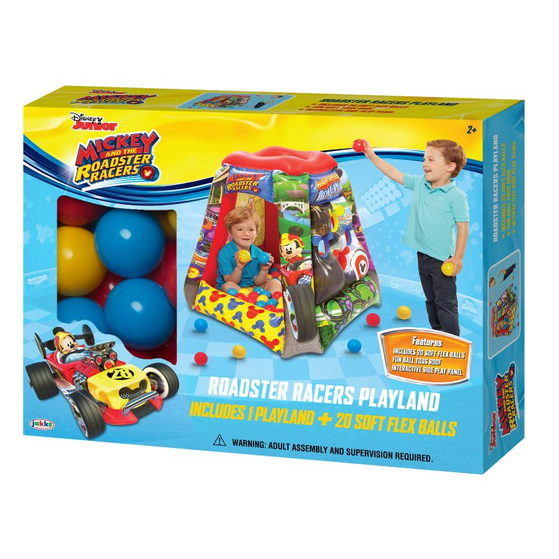Disney Mickey Mouse Having A Ball Playland (Multicolor)
