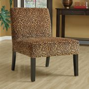Monarch Leopard Accent Chair