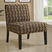 Monarch Geometric Accent Chair