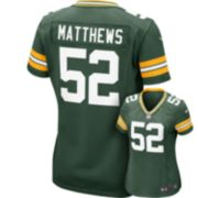 Women's Nike Green Bay Packers Clay Matthews NFL Jersey