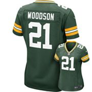 Nike Green Bay Packers Charles Woodson NFL Jersey - Women