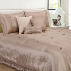 Hudson Street Bohemia Beige 7-pc. Comforter Set - Queen