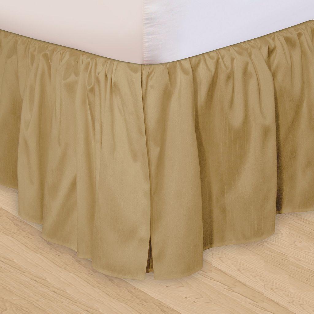 Veratex Huys Adjustable Ruffled Bed Skirt