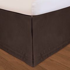 Veratex Huys Adjustable Matte Satin Bed Skirt