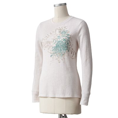 SONOMA life + style Scroll Thermal Tee