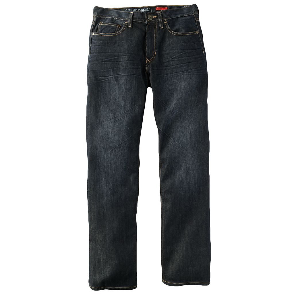 Big & Tall Apt. 9® Straight-Leg Jeans