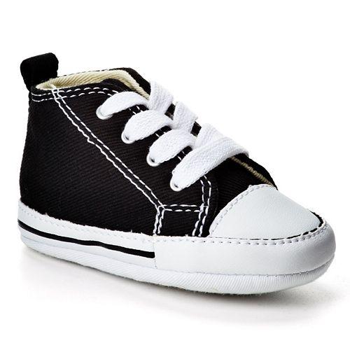 43d2fc8aa8f24b Baby Converse First Star Crib Shoes