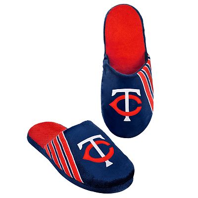 Minnesota Twins Logo Slippers - Men