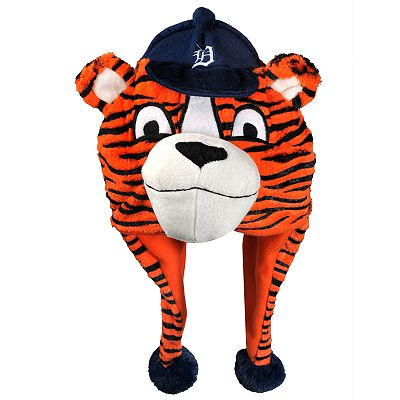 Detroit Tigers Mascot Thematic Plush Hat