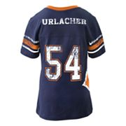 Chicago Bears Brian Urlacher Jersey Tee - Girls 7-16