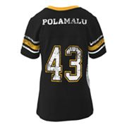 Pittsburgh Steelers Troy Polamalu Jersey Tee - Girls 7-16