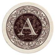 Thirstystone Monogram 4-pc. Coaster Set