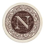 Thirstystone Monogram 4-pc. Coaster Set