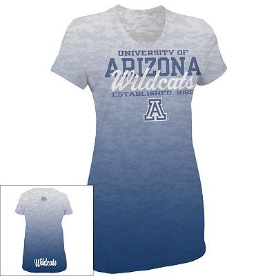 Russell Arizona Wildcats Dri-Power Ombre Tee
