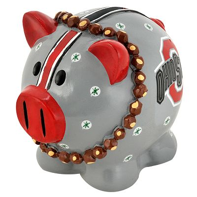 Ohio State Buckeyes Thematic Piggy Bank