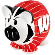 Wisconsin Badgers Thematic Piggy Bank