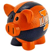 Illinois Fighting Illini Thematic Piggy Bank