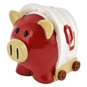 Oklahoma Sooners Thematic Piggy Bank