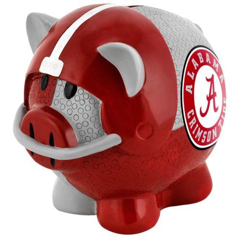 Alabama Crimson Tide Thematic Piggy Bank