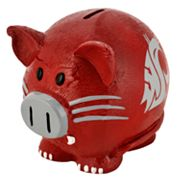 Washington State Cougars Thematic Piggy Bank