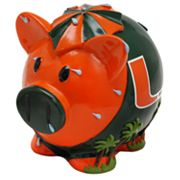 Miami Hurricanes Thematic Piggy Bank