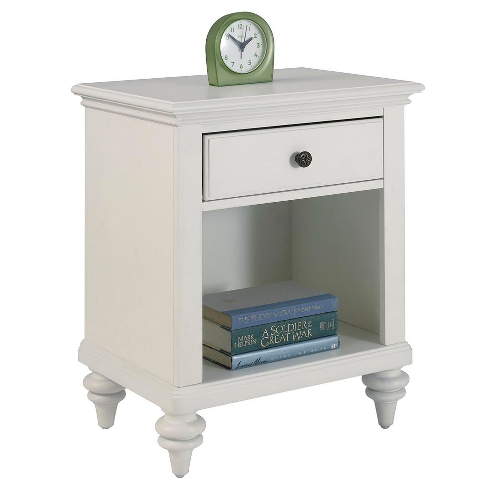 Bermuda White Nightstand