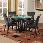 St. Croix 5-pc Game Table and Chairs Set