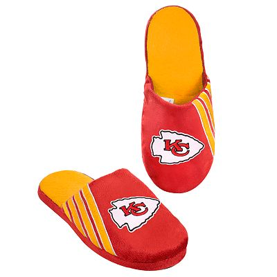 Kansas City Chiefs Logo Slippers - Men