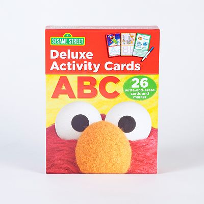Sesame Street Deluxe ABC Activity Cards