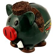 Minnesota Wild Thematic Piggy Bank