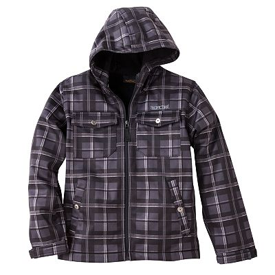 Pacific Trail Plaid Performance Hoodie - Boys 8-20