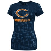 Chicago Bears Dream It II Burnout Tee - Women