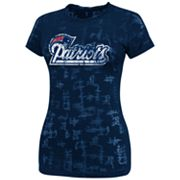 New England Patriots Dream It II Burnout Tee - Women