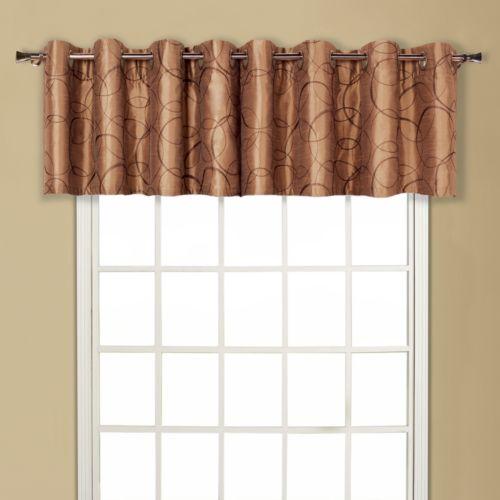 United Curtain Co. Sinclair Valance - 54'' x 18''