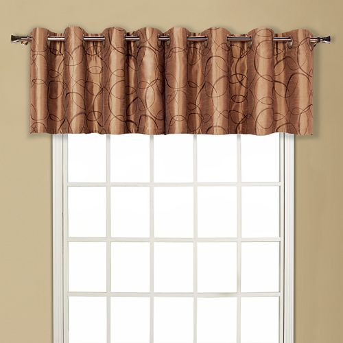 United Curtain Co. Sinclair Window Valance - 54'' x 18''