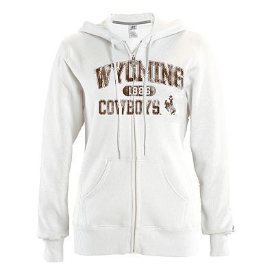 Russell Wyoming Cowboys Fleece Hoodie