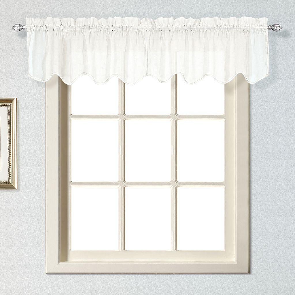 United Curtain Co. Charleston Valance - 51'' x 13''