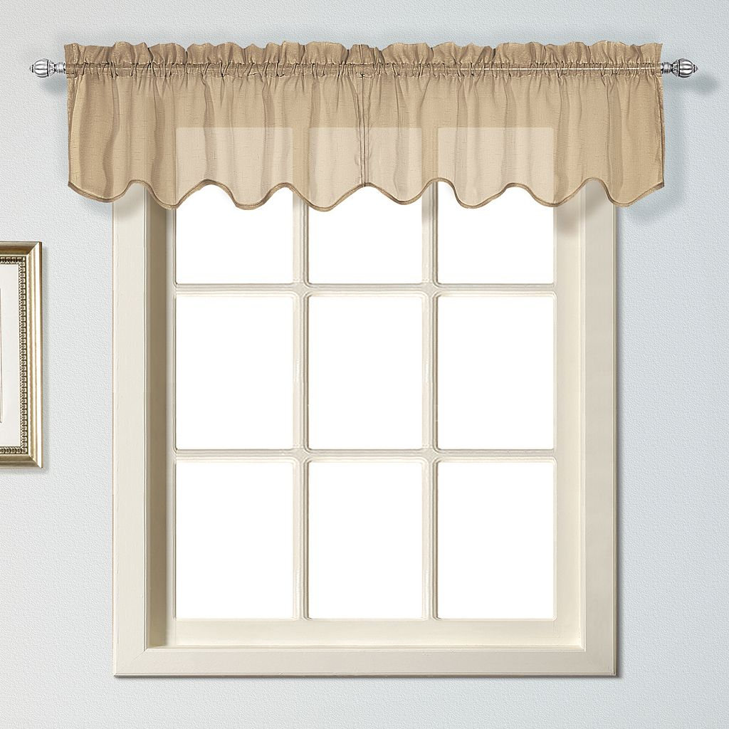 United Curtain Co. Charleston Window Valance - 51'' x 13''